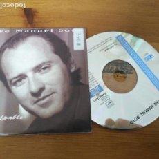 CDs de Música: CD SINGLE JOSE MANUEL SOTO . Lote 187372553