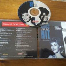 CDs de Música: ANGELS GONYALONS. MONICA GREEN. BLUES EN LA NIT. CD. 1995.. Lote 187373322