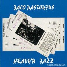 CDs de Música: JACO PASTORIUS - HEAVY'N JAZZ !! ITALY LIVE 1986, RARO, INEDITO, 70 MTOS DE DURACION, COLLECTORS. Lote 187384087