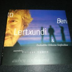 CD de Música: BENITO LERTXUNDI - & EUSKADIAKO ORKESTRA SINFONIKOA. Lote 187395922