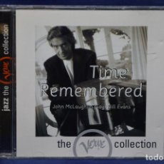 CDs de Música: THE VERVE COLLECTION -JOHN MCLAUGHLIN - JOHN MCLAUGHLIN PLAYS BILL EVANS:TIME REMEMBERED - CD. Lote 187423855