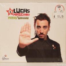 CDs de Música: CD+DVD/ LUCAS MASCIANO/ PATAS ARRIBA/ CD+DVD NUEVO PRECINTADO. Lote 187444996