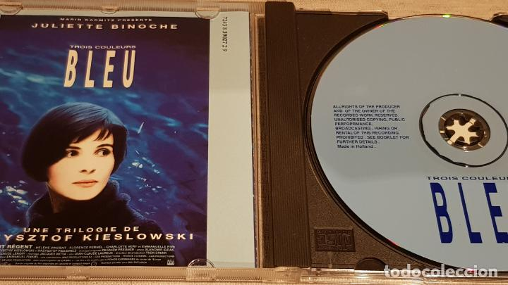 CDs de Música: B.S.O. / BLEU ( TROIS COULEURS ) / ZBIGNIEW PREISNER / CD - VIRGIN-FRANCE / 25 TEMAS / DE LUJO. - Foto 2 - 187448100