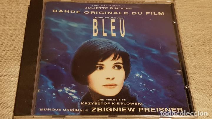 B.S.O. / BLEU ( TROIS COULEURS ) / ZBIGNIEW PREISNER / CD - VIRGIN-FRANCE / 25 TEMAS / DE LUJO. (Música - CD's Bandas Sonoras)