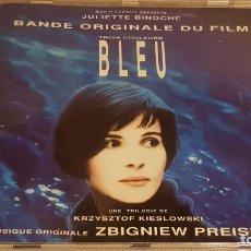 CDs de Música: B.S.O. / BLEU ( TROIS COULEURS ) / ZBIGNIEW PREISNER / CD - VIRGIN-FRANCE / 25 TEMAS / DE LUJO.. Lote 187448100