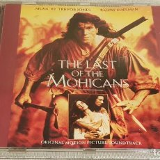 CDs de Música: B.S.O. / THE LAST OF THE MOHICANS / TREVOR JONES / CD - POLYDOR-1992 / 16 TEMAS / DE LUJO.. Lote 187449557