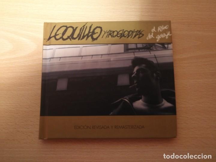 LOQUILLO CD LIBRO RITMO GARAJE 38 PAGINAS DRO 2001 EDICION REVISADA Y REMASTERIZADA 22 TEMAS (Música - CD's Pop)