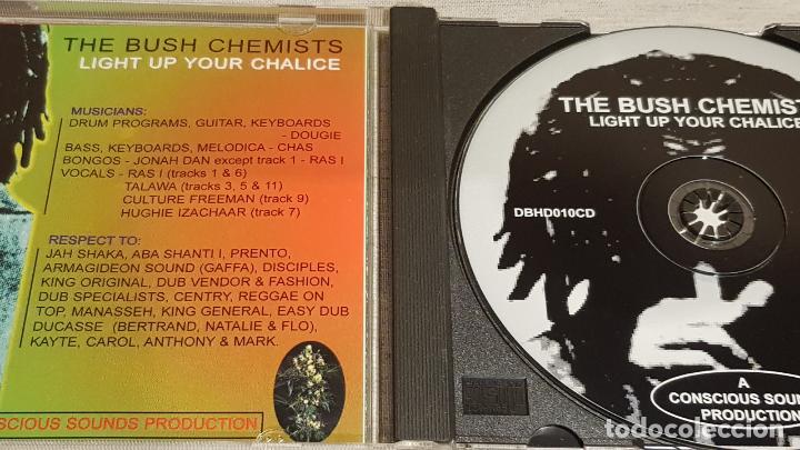 CDs de Música: THE BUSH CHEMISTS / LIGHT UP YOUR CHALICE / CD - CONSCIOUS SOUNDS / 12 TEMAS / BUENA CALIDAD. - Foto 2 - 187455140