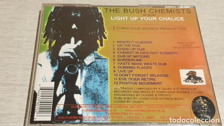 CDs de Música: THE BUSH CHEMISTS / LIGHT UP YOUR CHALICE / CD - CONSCIOUS SOUNDS / 12 TEMAS / BUENA CALIDAD. - Foto 3 - 187455140