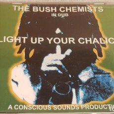 CDs de Música: THE BUSH CHEMISTS / LIGHT UP YOUR CHALICE / CD - CONSCIOUS SOUNDS / 12 TEMAS / BUENA CALIDAD.. Lote 187455140