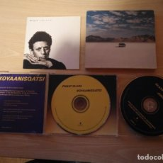 CDs de Música: DOBLE CD - PHILLIP GLASS - KOYAANISQATSI - GLASS JUKEBOX- EDICIÓN LIMITADA - NONESUCH 7559-79519-2. Lote 187466342
