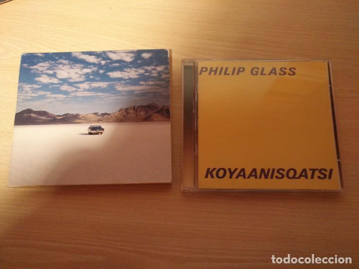 CDs de Música: Doble CD - PHILLIP GLASS - Koyaanisqatsi - GLASS JUKEBOX- Edición limitada - NONESUCH 7559-79519-2 - Foto 2 - 187466342
