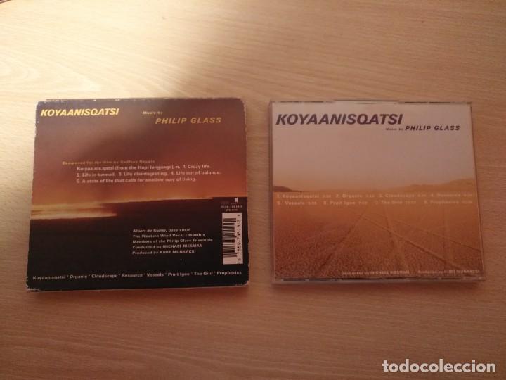 CDs de Música: Doble CD - PHILLIP GLASS - Koyaanisqatsi - GLASS JUKEBOX- Edición limitada - NONESUCH 7559-79519-2 - Foto 4 - 187466342