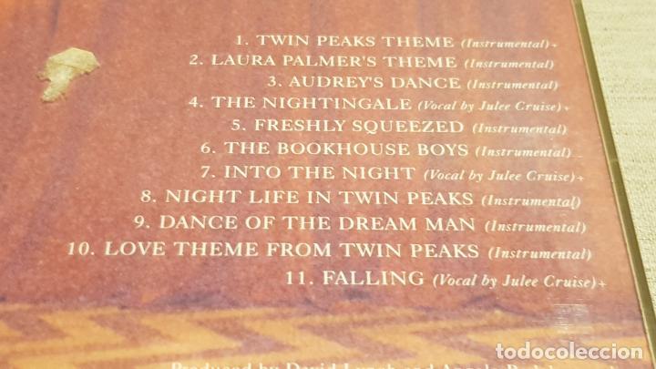 CDs de Música: B.S.O. / TWIN PEAKS / ANGELO BADALAMENTI / CD - WARNER BROS / 11 TEMAS / CALIDAD LUJO. - Foto 4 - 187475642