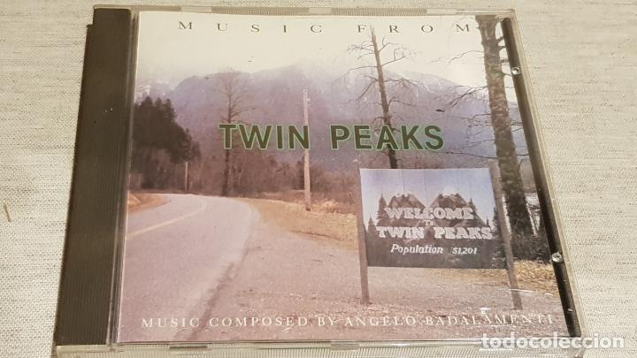 B.S.O. / TWIN PEAKS / ANGELO BADALAMENTI / CD - WARNER BROS / 11 TEMAS / CALIDAD LUJO. (Música - CD's Bandas Sonoras)