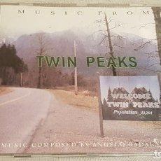 CDs de Música: B.S.O. / TWIN PEAKS / ANGELO BADALAMENTI / CD - WARNER BROS / 11 TEMAS / CALIDAD LUJO.. Lote 187475642