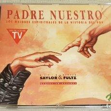CDs de Música: PADRE NUESTRO / LOS MEJORES ESPIRITUALES DE LA HISTORIA DEL POP / CD / 16 TEMAS / DE LUJO.. Lote 187475866
