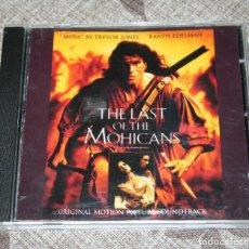CDs de Música: EL ULTIMO MOHICANO.CD.BSO.TREVOR JONES.1992.BANDA SONORA ORIGINAL. Lote 187477843