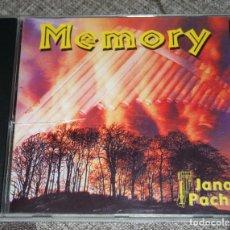 CDs de Música: MEMORY.CD.JANAJ PACHA.RELAJACION.GEMECS.BANDAS SONORAS.MUSICA ANDINA.. Lote 187478012