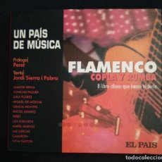 CDs de Música: CD - LIBRO 2000 FLAMENCO COPLA Y RUMBA. Lote 187478277