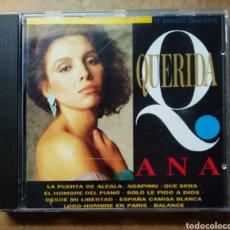 CDs de Música: CD ANA BELÉN: QUERIDA ANA. 12 GRANDES CANCIONES (SONY/EPIC, 1993).. Lote 187478596