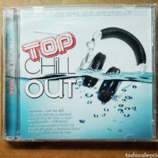 CDs de Música: CD TOP CHILL OUT: THE PURÉ CHILL OUT EXPERIENCE (OK RECORDS, 2007). HARMONY GROUP.. Lote 187478807