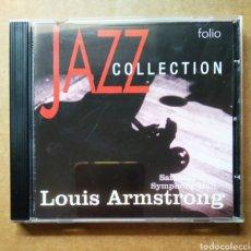 CDs de Música: CD JAZZ COLLECTION: LOUIS ARMSTRONG / SATCHMO AR SYMPHONY HALL (MCA/FOLIO, 2001).. Lote 187479921