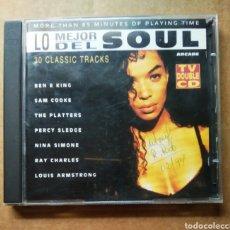 CDs de Música: DOBLE CD LO MEJOR DEL SOUL: 30 CLASSICS TRACKS (ARCADE, 1992).. Lote 187480161