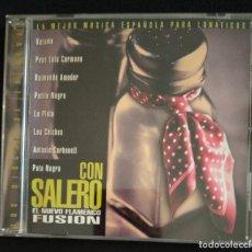 CDs de Música: CD FLAMENCO 1999 RECOPILACIÓN CON SALERO. Lote 187481915