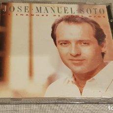 CDs de Música: JOSÉ MANUEL SOTO / ME ENAMORÉ DE UNOS OJOS / CD - EPIC-1990 / 9 TEMAS / DE LUJO.. Lote 187487922
