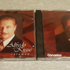 CDs de Música: ALFREDO KRAUS / CANARIAS 7 / VOLUMEN 1 Y 2 / EN TOTAL 20 TEMAS / CALIDAD LUJO.. Lote 187488292