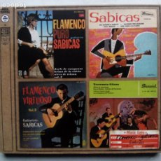 CDs de Música: SABICAS. CD MUSIC AGES 34025. ESPAÑA 2007. FLAMENCO PURO. FLAMENCO VIRTUOSO. 4 EP'S EN UN CD.. Lote 187502270