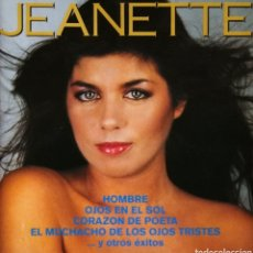 CDs de Música: CD ALBUM JEANETTE / CORAZON DE POETA. Lote 187506293