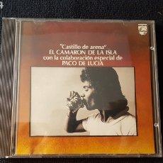 CDs de Música: EL CAMARON DE LA ISLA* CON LA COLABORACIÓN ESPECIAL DE PACO DE LUCIA..CASTILLO DE ARENA. Lote 187519557