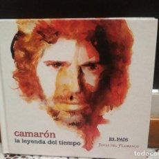 CDs de Música: CAMARON DE LA ISLA LA LEYENDA DEL TIEMPO CD EDICION LIBRO COLECCION EL PAIS JOYAS DEL FLAMENCO 2008 . Lote 187520136