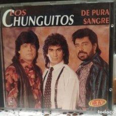 CDs de Música: LOS CHUNGUITOS DE PURA SANGRE CD ALBUM DEL AÑO 1993 CONTIENE 12 TEMAS LEONARDO DANTES. Lote 187526506