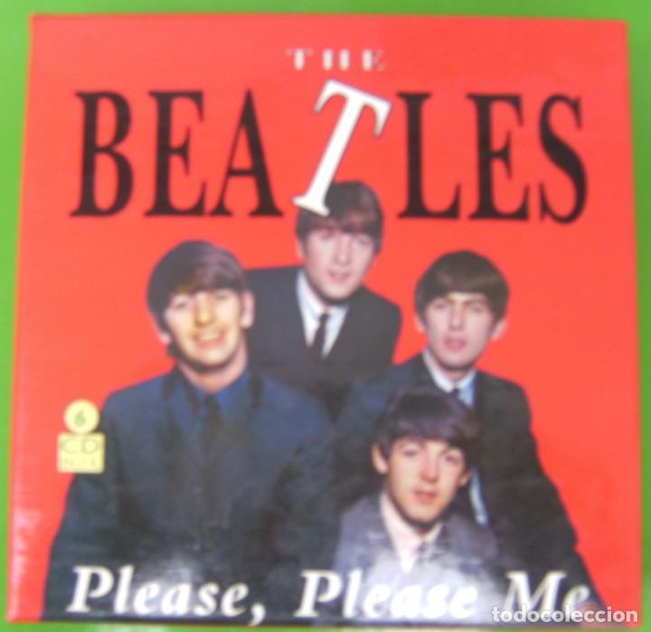 THE BEATLES - BOX CON 6 CDS (1990) CON 96 CANCIONES (Música - CD's Pop)