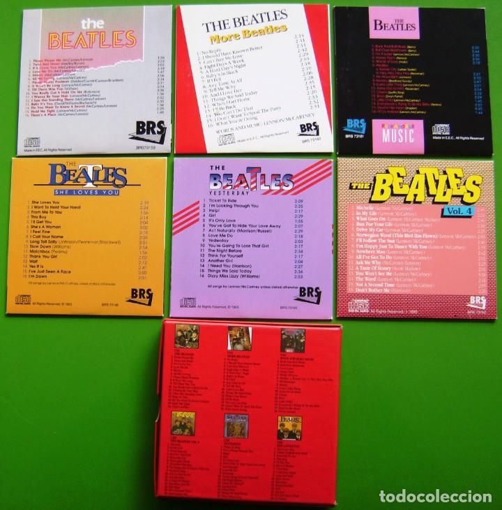 CDs de Música: The Beatles - Box con 6 CDs (1990) con 96 canciones - Foto 5 - 187544795