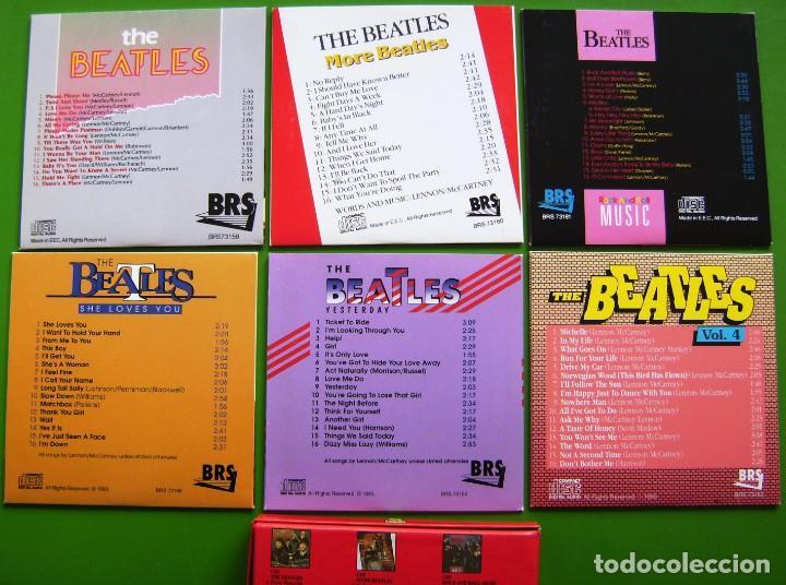 CDs de Música: The Beatles - Box con 6 CDs (1990) con 96 canciones - Foto 6 - 187544795