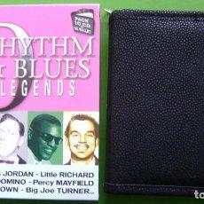 CDs de Música: RHYTHM & BLUES LEGENDS - BOX CON ESTUCHE DE ALTA CALIDAD - 10 CDS -. Lote 187544975
