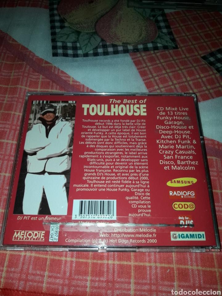 CDs de Música: DJ Pit presente the best of Toulhouse. Edicion del 2000 Francia. Raro - Foto 2 - 187555552