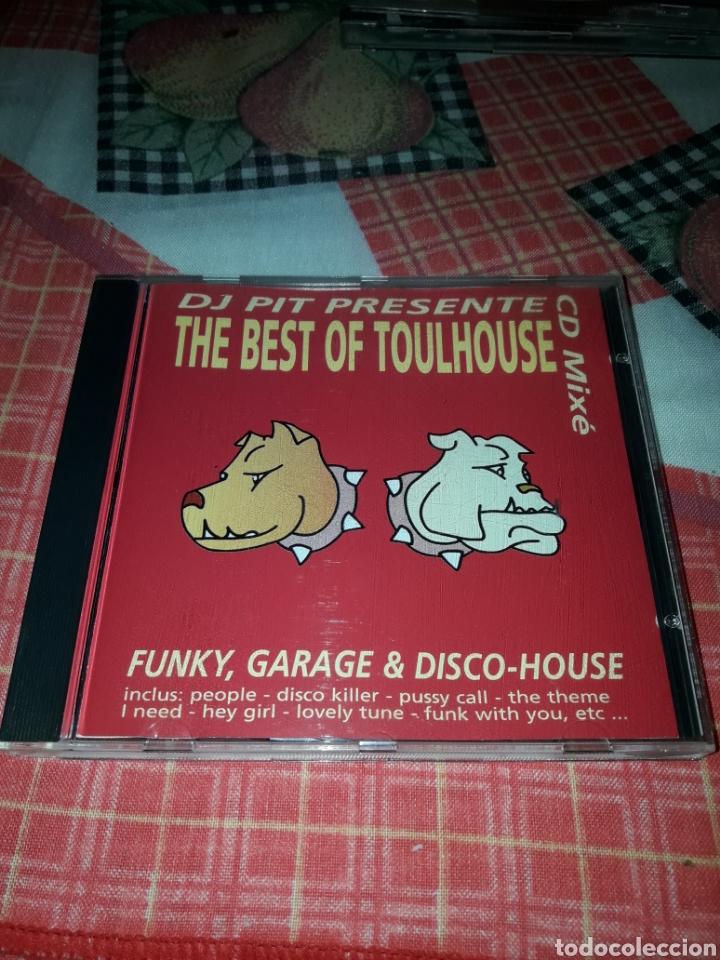 DJ PIT PRESENTE THE BEST OF TOULHOUSE. EDICION DEL 2000 FRANCIA. RARO (Música - CD's Techno)