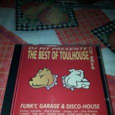 CDs de Música: DJ PIT PRESENTE THE BEST OF TOULHOUSE. EDICION DEL 2000 FRANCIA. RARO. Lote 187555552