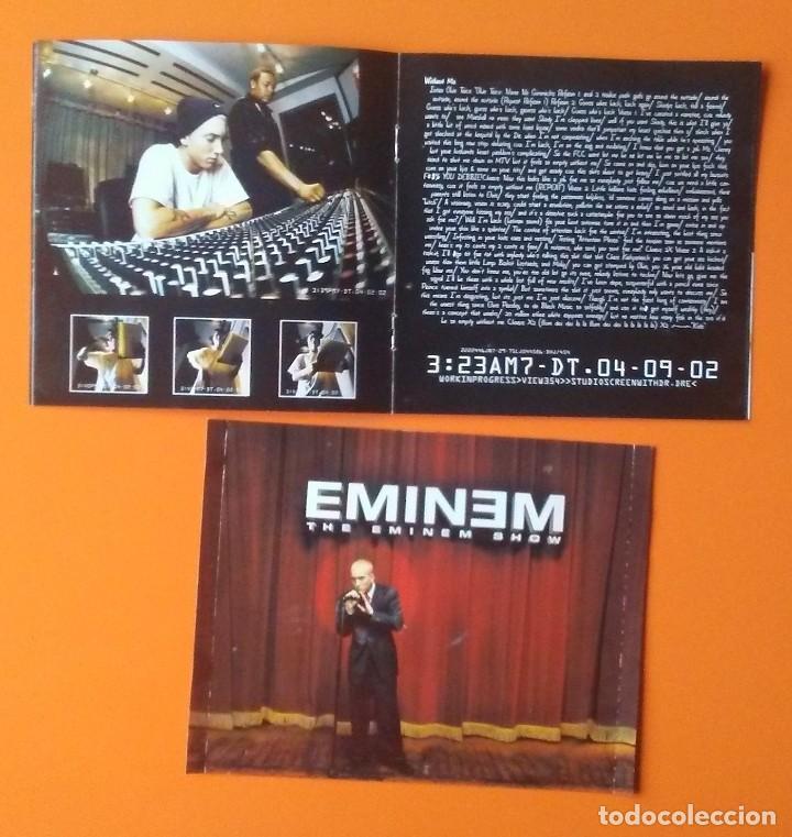 CDs de Música: EMINEM THE EMINEM SHOW LIBRETO 30 PÁGINAS+CARATULA TRASERA (NO CD) - Foto 2 - 187574238