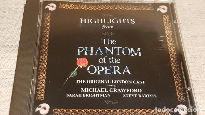 B.S.O. / THE PHANTOM OF THE OPERA / ANDREW LLOYD / CD - POLYDOR / CALIDAD LUJO. (Música - CD's Bandas Sonoras)
