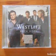 CDs de Música: CD WESTLIFE - BACK HOME (AZ). Lote 187589780
