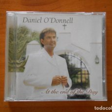 CDs de Música: CD DANIEL O'DONNEL - AT THE END OF THE DAY (AZ). Lote 187589962