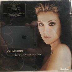 CDs de Música: CELINE DION: LET'S TALK ABOUT LOVE (CD). Lote 187591368