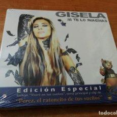 CDs de Música: GISELA NI TE LO IMAGINAS CD + DVD DIGIPACK PRECINTADO GIPSY LOVE PELICULA EL RATONCITO DE TUS SUEÑOS. Lote 187591508