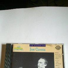CDs de Música: CD, JOSÉ CARRERAS, VIDA COTIDIANA Y CANCIONES. Lote 187593855